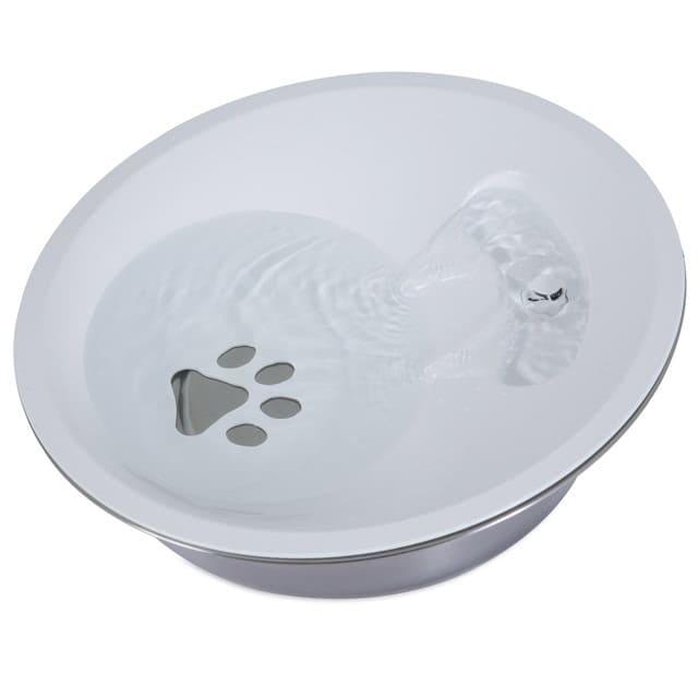 Petmate不鏽鋼圓形噴泉電動飲水機