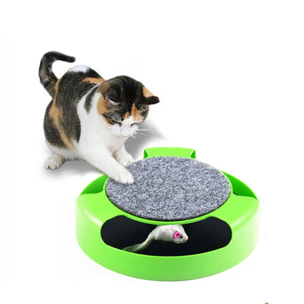 GCT 貓咪捉老鼠轉盤玩具