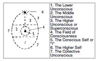 心理學家提出的蛋形圖