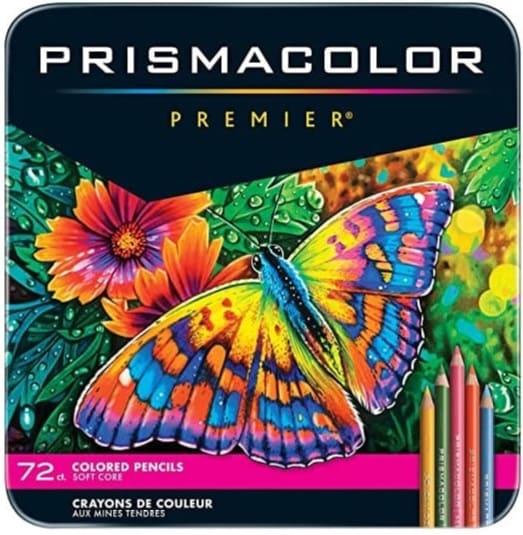 Prismacolor油性色鉛筆
