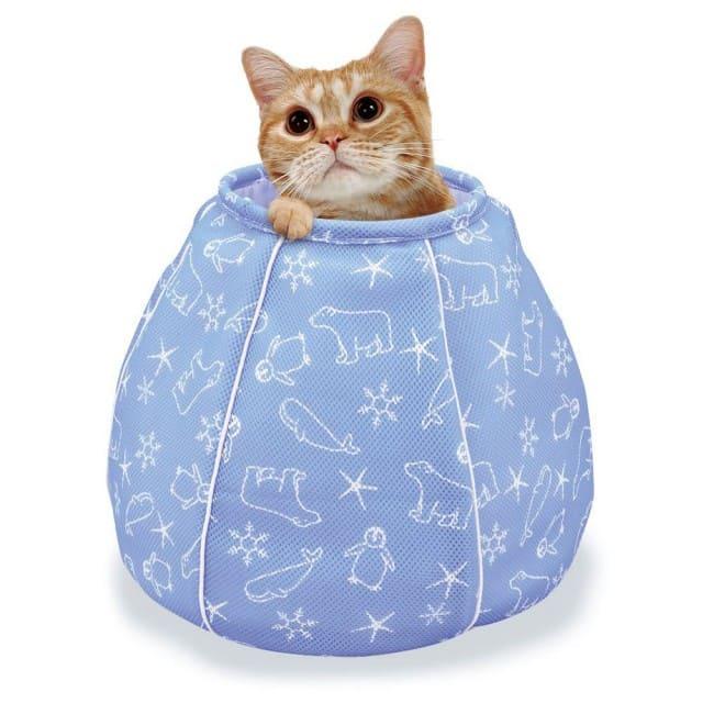 Marukan 貓咪涼感床-水壺造型