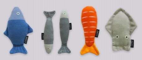 Envy貓草玩具—海鮮系列